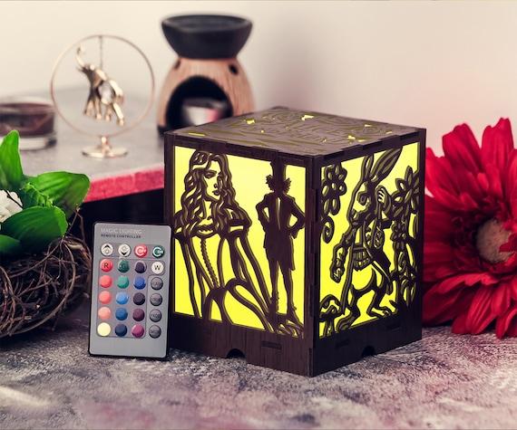 Christmas Night Lights Nightlights For Kids Rooms Alice In | Etsy
