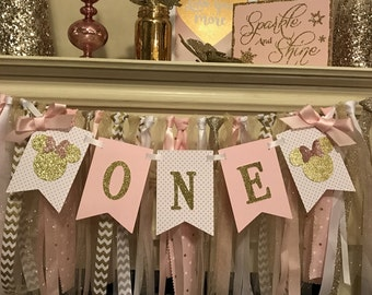 Minnie Mouse Birthday Decorations | Minnie Mouse Party Decorations | Minnie Mouse Birthday Banner