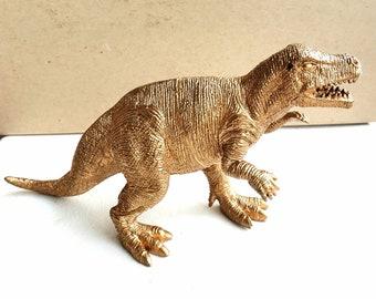Stygimoloch Dinosaur Topper Figure Figurine Model Orange Gold Rmo