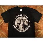 WEEKEND AT BERNIES // etid hardcore punk t-shirt