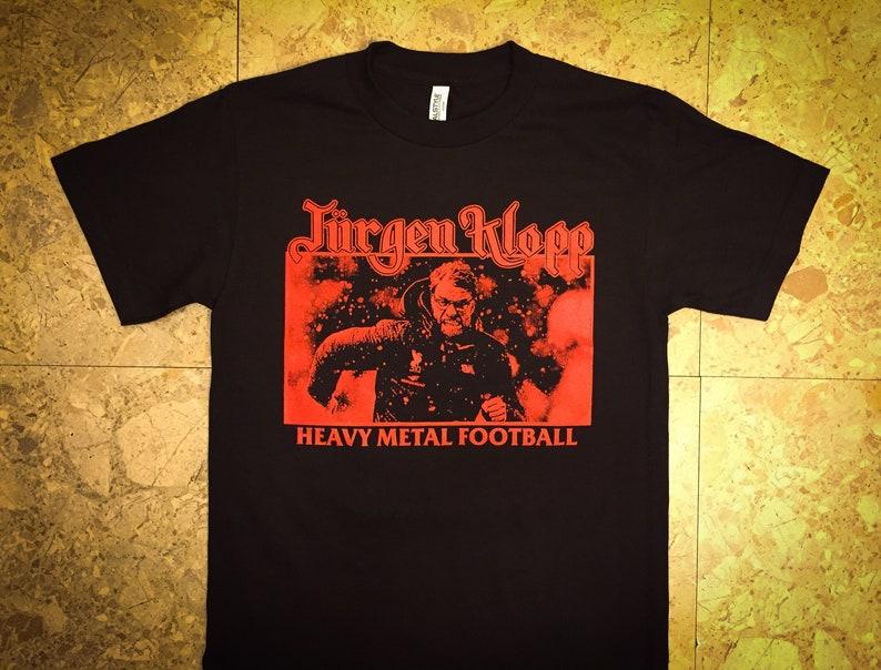 Klopp Heavy Metal Football  T-shirt image 0