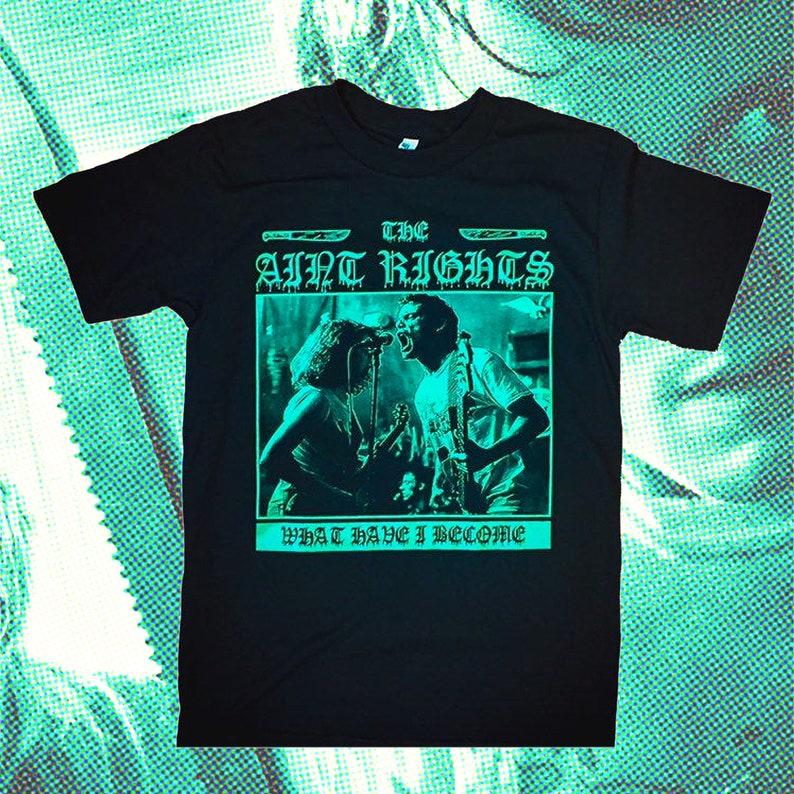 The Ain't Rights  Greenroom Hardcore Punk T-Shirt image 0
