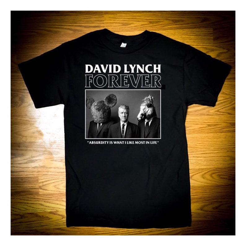 David Lynch Forever 2.0 T-Shirt  Horror Punk image 0