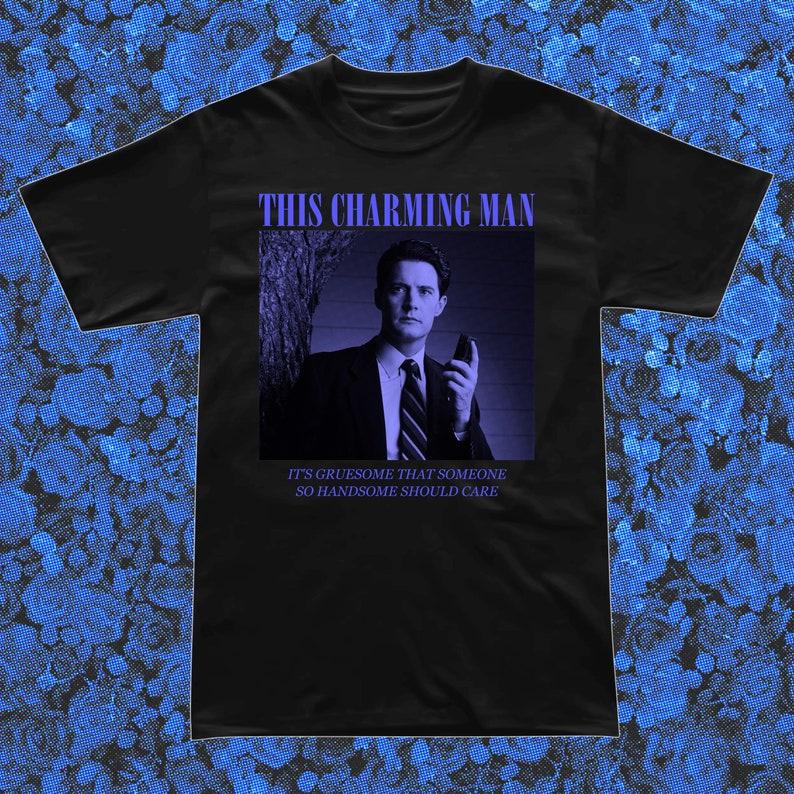 Charming Man Black T-Shirt image 0