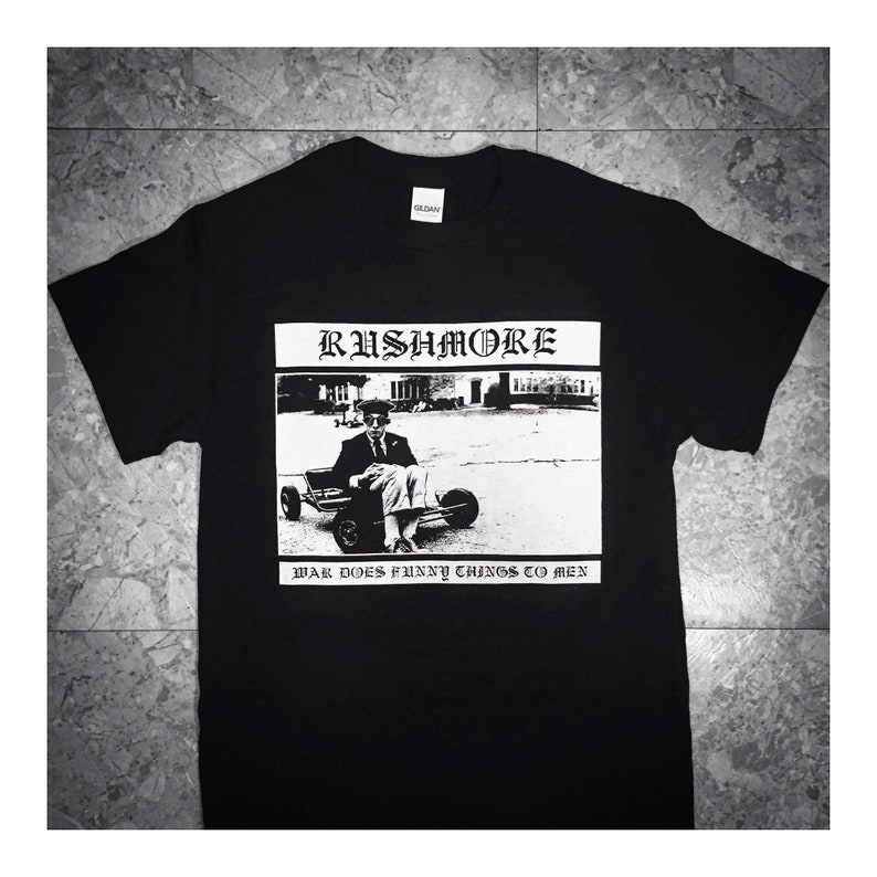 Rushmore Hardcore Punk Wes Anderson T-shirt image 0