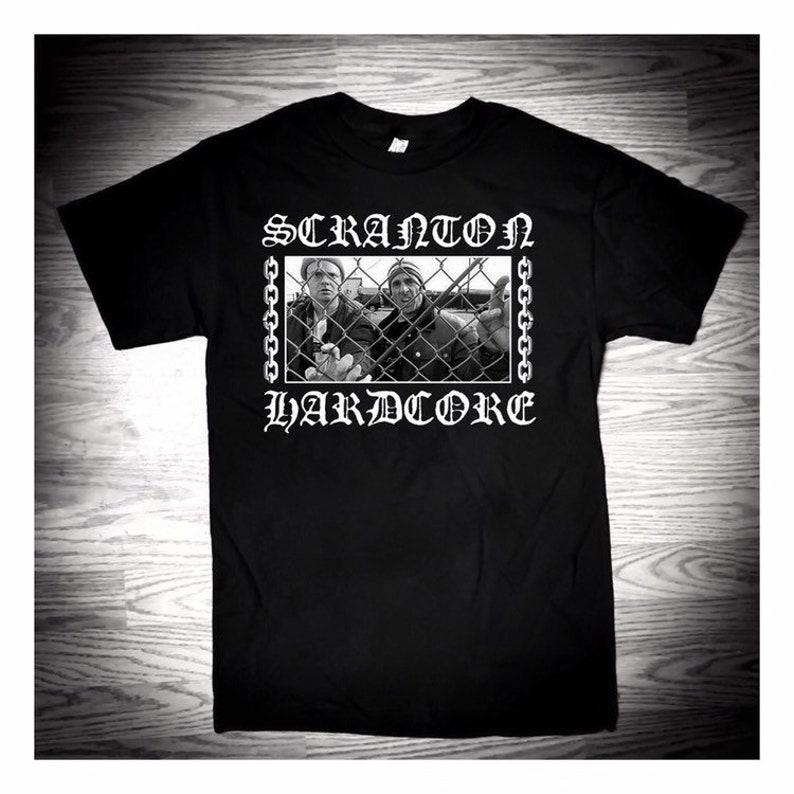 SCRANTON HARDCORE  Dwight Michael T-shirt image 0