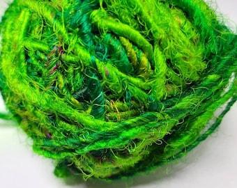 Sari silk-recycled silk from Indian saris