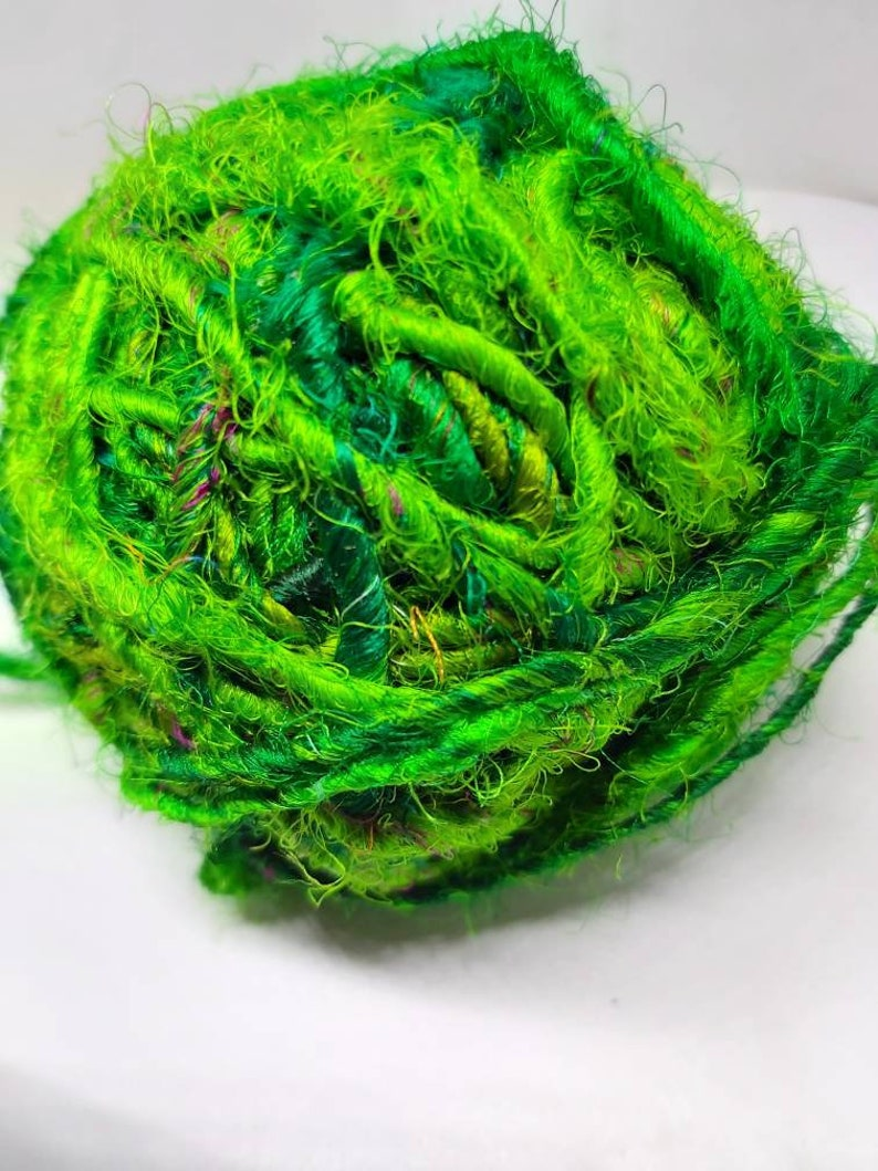 Sari silk-recycled silk from Indian saris image 0