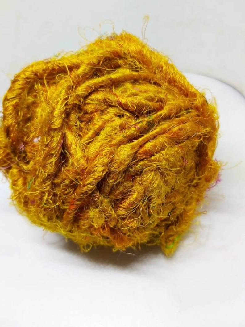 Sari silk-recycled silk from Indian saris image 0