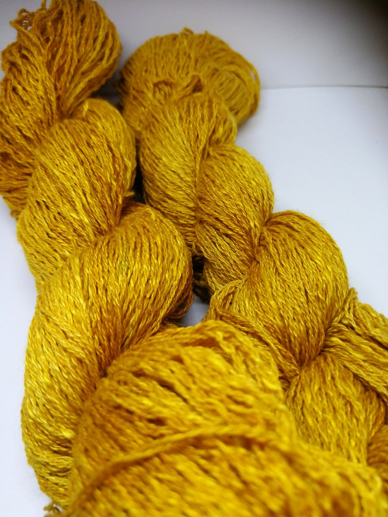 Casetta noble yarn made of silk cashmere and wool for image 0