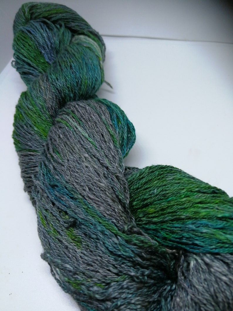 Casetta-noble yarn made of silk cashmere and wool for image 0