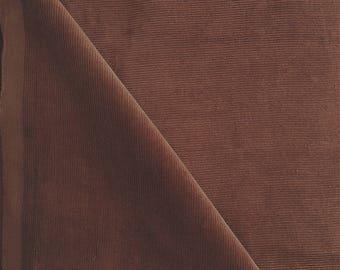 Chestnut brown velvet