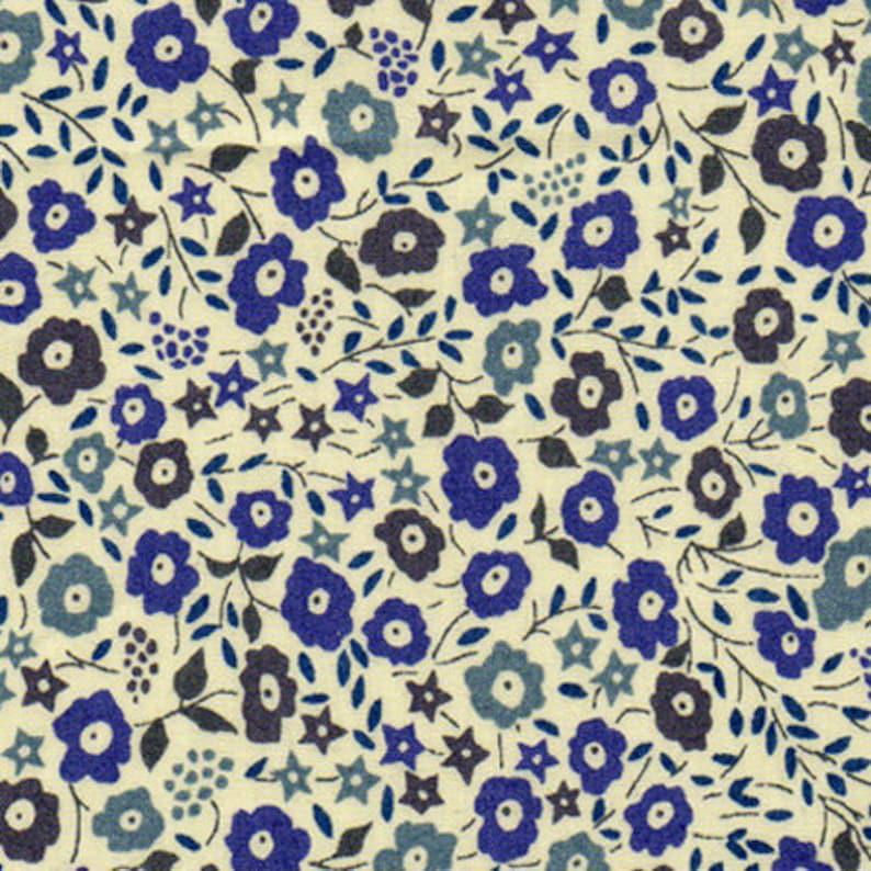 Coupon Liberty Fairford Blue 25cmx32cm