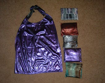 Adult bib in a pouch