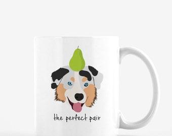 Personalized Australian Shepherd Mug, Australian Shepherd Coffee Mug, Australian Shepherd Mug, Dog Mug, Australian Shepherd Coffee Cup