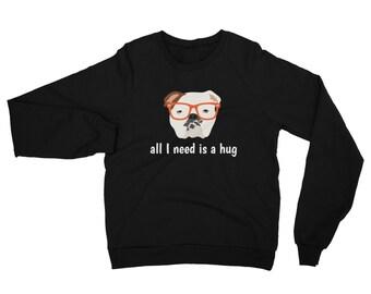 Personalized English Bulldog Sweatshirt, Custom English Bulldog Sweatshirt, Custom Dog Sweatshirt, Dog Tee, Personalized Bulldog Sweatshirt