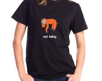Personalized Sloth Short-Sleeve Unisex T-Shirt, Sloth T-shirt, Custom Sloth T-shirt, Sloth, Sloth Lover T-shirt, Sleepy Sloth T-shirt, Sloth