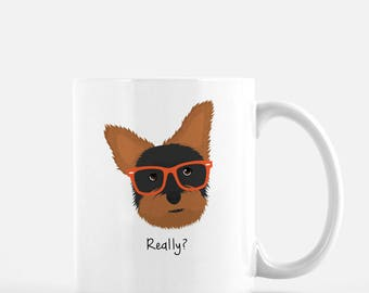 Personalized Yorkshire Terrier Mug, Yorkshire Terrier Coffee Mug, Yorkie Gifts, Yorkie, Customized Yorkie Mug, Yorkie Mug, Yorkie Coffee Mug