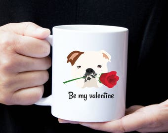 Personalized English Bulldog Mug, English Bulldog Coffee Mug, English Bulldog Love Mug, Bulldog Coffee Mug, Dog, English Bulldog Love Mug