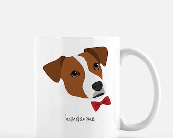 Personalized Jack Russell Terrier Mug, Jack Russell Terrier Coffee Mug, Jack Russell Terrier Gifts, Dog, Customized Jack Russell Terrier Mug