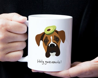 Personalized Boxer Mug, Customized Boxer Cup, Custom Boxer Mug, Dog Mug, Boxer Coffee Mug, Customized Boxer Gift, Boxer, Boxer Coffee Mug