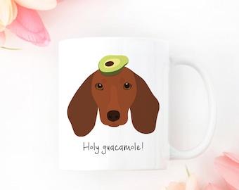 Personalized Dachshund Mug, Custom Dachshund Mug, Dachshund Gift, Dachshund Coffee Mug, Wiener Dog Mug, Dachshund Coffee Cup, Dachshund Mug
