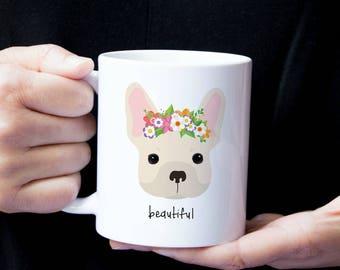 Personalized French Bulldog Mug, French Bulldog Coffee Mug, French Bulldog Mug, Dog Mug, Custom Dog Mug, Frenchie Coffee Mug, Frenchie Dog