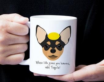 Personalized Chihuahua Mug, Chihuahua Coffee Mug, Chihuahua Mug, Dog Mug, Custom Chihuahua Mug, Chihuahua Coffee Cup, Dog Cup,Chihuahua Gift