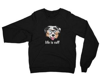 Personalized Australian Shepherd Sweatshirt, Custom Assuie Sweatshirt, Custom Dog Sweatshirt, Personalized Dog Sweatshirt, Aussie Sweatshirt