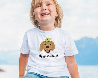 Personalized Golden Retriever Toddler T-shirt, Custom Golden Retriever T-shirt for Kids, Dog, Dog Toddler Tee, Golden Retriever Toddler Tee