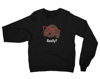 Personalized Labradoodle Sweatshirt, Custom Labradoodle Sweatshirt, Custom Dog Sweatshirt, Personalized Dog Sweatshirt, Doodle Sweatshirt