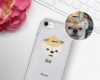 Custom Dog iPhone Cases, Custom Dog Phone Case, Custom Pet Design iPhone Case, Customized iPhone 7, 8 and 7, 8 Plus Cases, Dog iPhone X Case