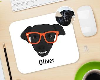 Custom Dog Mouse Pad, Customized Dog Mouse Pad, Custom Pet Mouse Pad, Dog Accessory, Dog Portrait Design, Pet Portrait Design, Dog Mouse Pad