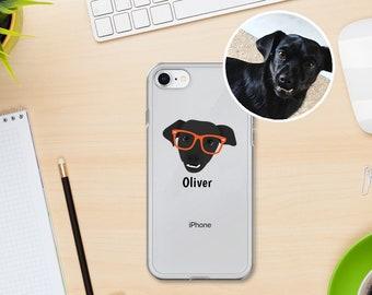 Custom Dog iPhone Cases, Custom Dog Phone Case, Custom Pet Design iPhone Case, Customized iPhone 7, 8 and 7, 8 Plus Cases, Dog iPhone X Case