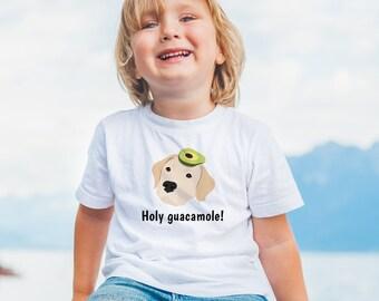 Personalized Labrador Retriever Toddler T-shirt, Lab Toddler Tee, Custom Lab T-shirt for Kids, Toddler Dog Tee, Lab, Kids Labrador T-shirt