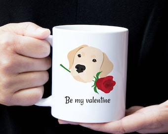 Personalized Labrador Retriever Mug, Yellow Lab Coffee Mug, Lab Coffee Mug, Dog Mug, Yellow Lab Mug, Lab Coffee Mug, Lab Love Mug, Lab Mug