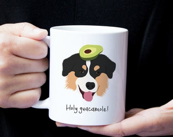 Personalized Australian Shepherd Mug, Customized Aussie Mug, Aussie Coffee Mug, Dog Mug, Australian Shepherd Coffee Cup, Custom Aussie Gift