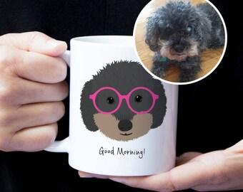 Custom Dog Mug, Custom Pet Mug, Custom Pet Drawing, Pet Art, Dog Mug, Personalized Dog Mug, Custom Dog Art, Custom Dog Illustration, Dog Mug