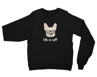Personalized French Bulldog Sweatshirt, Custom Frenchie Sweatshirt, Custom Dog Sweatshirt, Personalized Dog Sweatshirt, Frenchie Sweatshirt