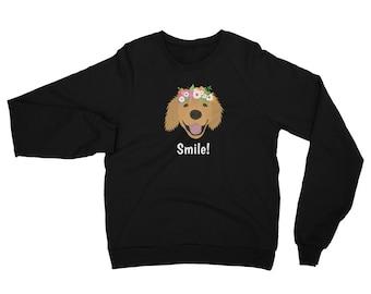 Personalized Golden Retriever Sweatshirt, Custom Golden Retriever Sweatshirt, Custom Dog Sweatshirt, Personalized Dog Sweatshirt, Dog Hoodie