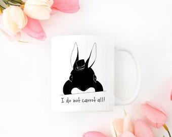Personalized Bunny Mug, Bunny Coffee Mug, Bunny Mug, Rabbit Mug, Custom Bunny Mug, Bunny Coffee Cup, Bunny Gift, Rabbit, Rabbit Coffee Mug