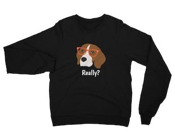 Personalized Beagle Sweatshirt, Custom Beagle Sweatshirt, Custom Dog Sweatshirt, Personal Dog Sweatshirt, Beagle Hoodie, Beagle Sweatshirt