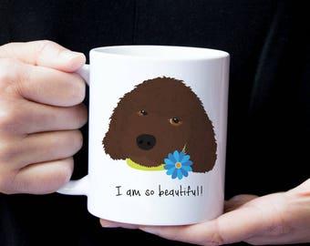 Personalized Labradoodle Mug, Customized Labradoodle Gift, Labradoodle Mug, Labradoodle Gifts, Custom Labradoodle, Labradoodle Coffee Mug