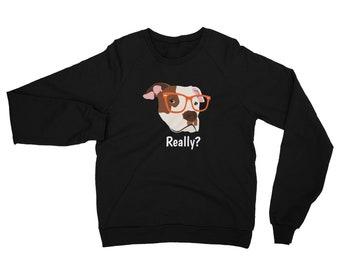 Personalized Pit Bull Sweatshirt, Custom Pit Bull Sweatshirt, Custom Dog Sweatshirt, Personalized Dog Sweatshirt, Dog, Pit Bull Sweatshirt
