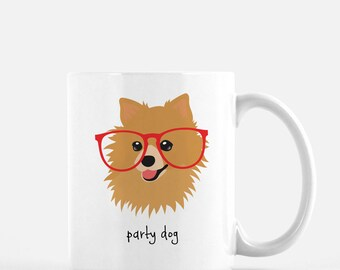 Personalized Pomeranian Mug, Customized Pomeranian Gift, Pomeranian Mug, Pomeranian Gifts, Custom Pomeranian, Dog Mug, Pomeranian Coffee Mug