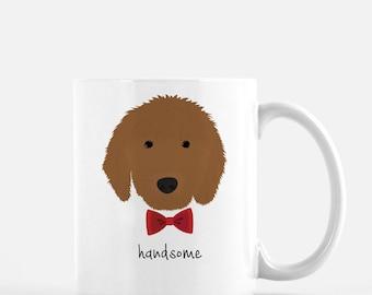 Personalized Goldendoodle Mug, Goldendoodle Coffee Mug, Goldendoodle Gifts, Dog Mug, Goldendoodle Glasses, Customized Goldendoodle Mug, Dog