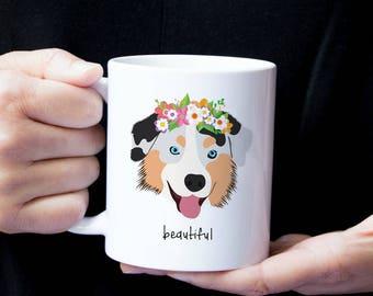 Personalized Australian Shepherd Mug, Australian Shepherd Coffee Mug, Australian Shepherd Mug, Dog Mug, Australian Shepherd Coffee Cup, Dog