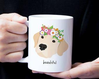 Personalized Labrador Retriever Mug, Yellow Lab Coffee Mug, Lab Coffee Mug, Custom Lab Gifts, Yellow Lab Mug, Lab Coffee Mug, Lab Cup, Lab