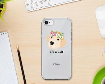 Personalized Labrador Retriever  iPhone Cases, Lab Phone Case, Custom Dog iPhone Case, iPhone 7, 8 and 7, 8 Plus Cases, Lab iPhone X Case