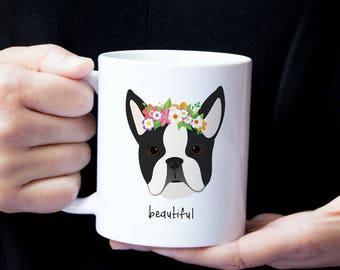 Personalized Boston Terrier Mug, Boston Terrier Coffee Mug, Boston Terrier Mug, Custom Boston Terrier Mug, Custom Boston Terrier Gift, Dog